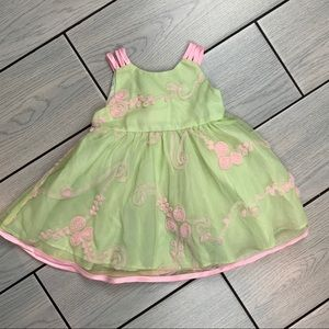 ✨💚💖 Beautiful Baby Dress by Rare Editions 💖💚✨